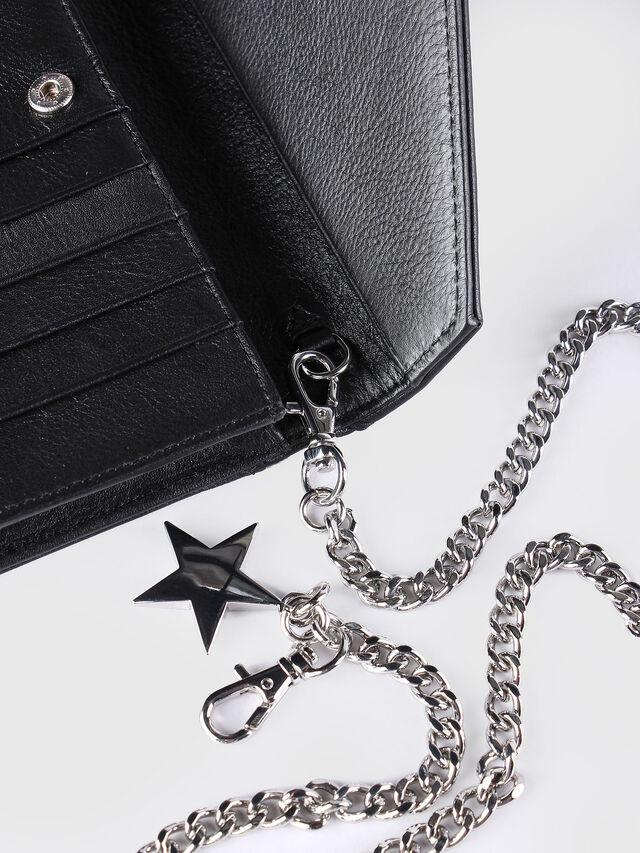 Diesel GIPSI, Black - Small Wallets - Image 6