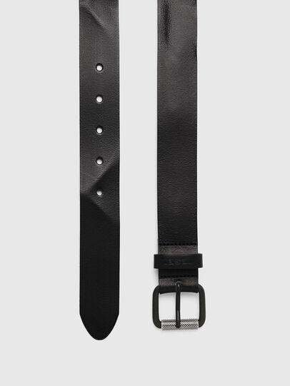 Diesel - B-PLATE, Black - Belts - Image 3