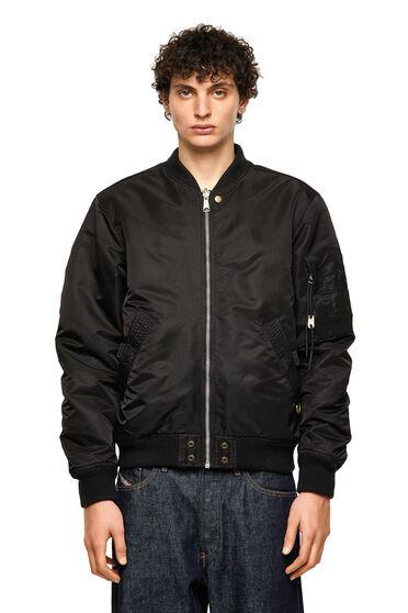 Padded reversible bomber jacket