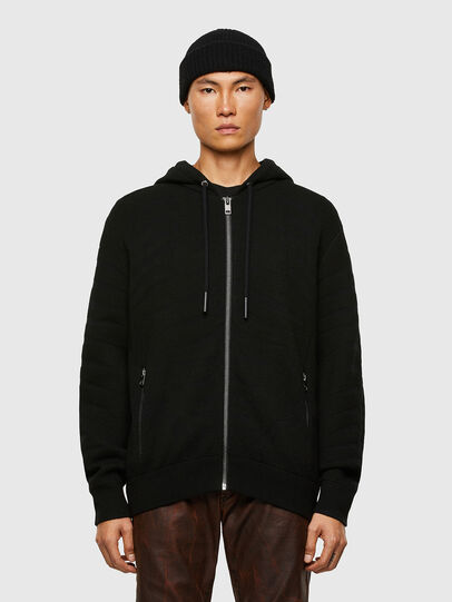 Diesel - K-ALAMAN, Black - Knitwear - Image 1