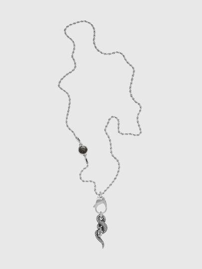 Diesel - DX1278, Silver - Necklaces - Image 1