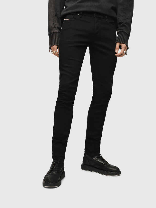Diesel - Sleenker 0886Z, Black/Dark grey - Jeans - Image 1