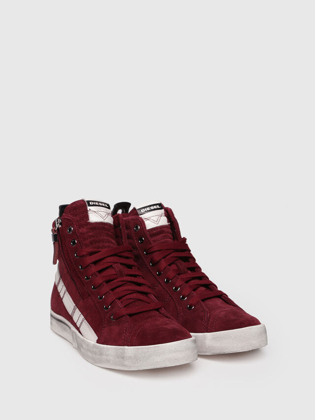 Diesel - D-VELOWS MID LACE, Red - Sneakers - Image 3