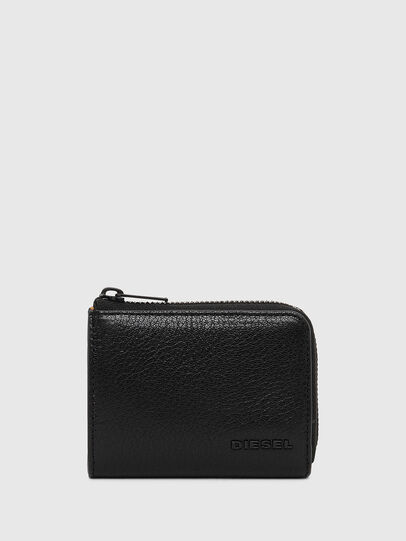 Diesel - L-PASSME, Black/Orange - Small Wallets - Image 1