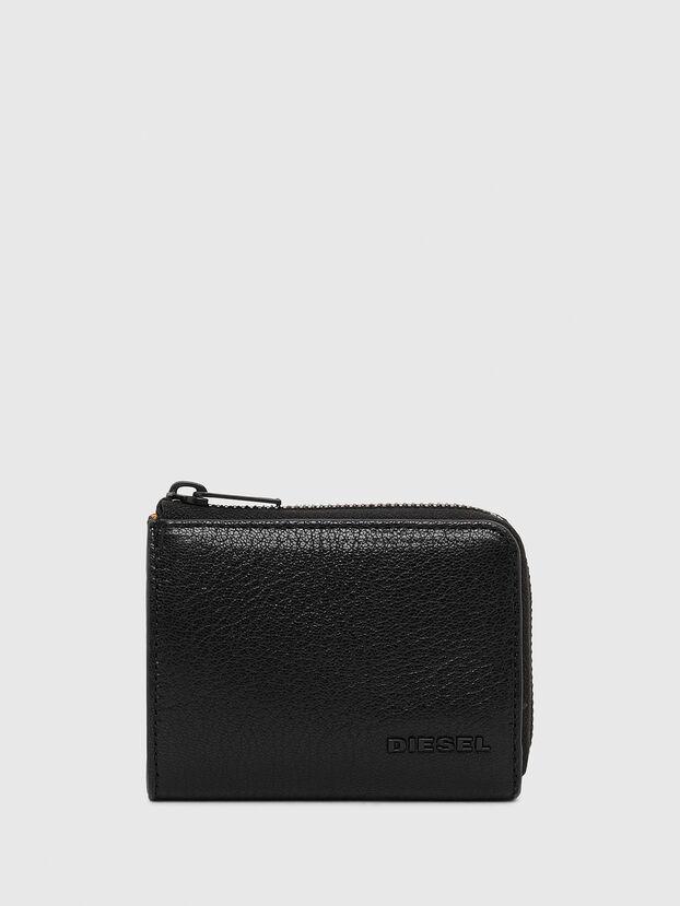 L-PASSME, Black/Orange - Small Wallets