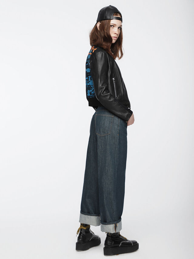 Diesel - Widee 084UR, Dark Blue - Jeans - Image 4