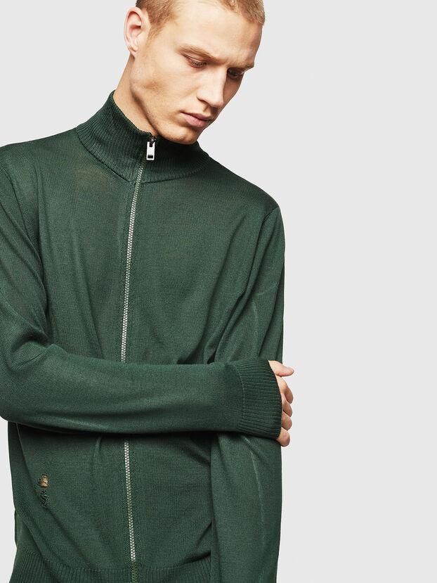 K-ECLY, Dark Green - Knitwear