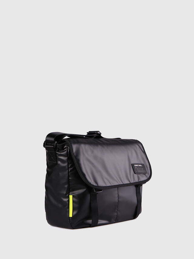 Diesel F-DISCOVER MESSENGER, Black - Crossbody Bags - Image 3