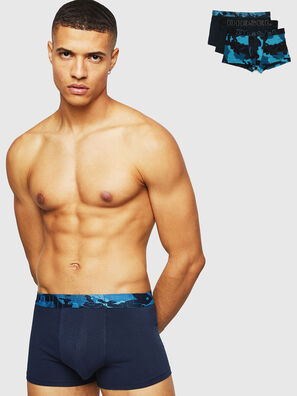 UMBX-DAMIENTHREEPACK, Black/Blue - Trunks