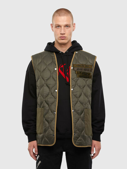 Diesel - W-TORRENCE, White/Black - Winter Jackets - Image 5