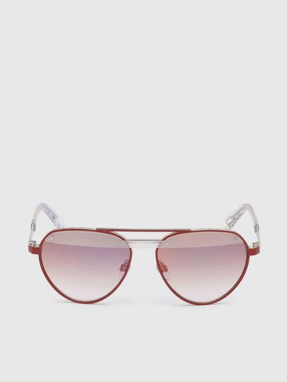 Diesel - DL0261, Red - Sunglasses - Image 1