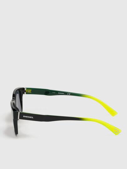 Diesel - DL0327, Black/Yellow - Sunglasses - Image 2