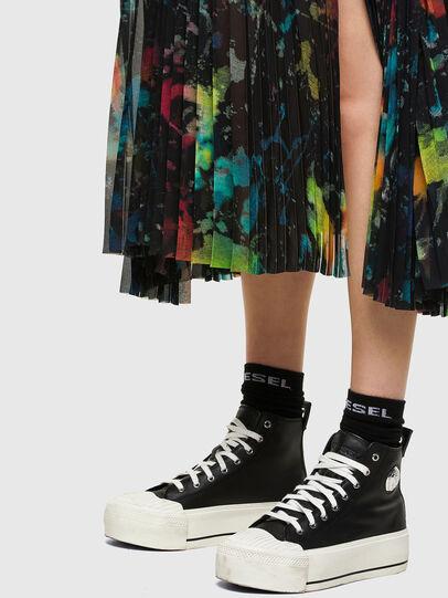Diesel - O-SHEER, Black - Skirts - Image 4