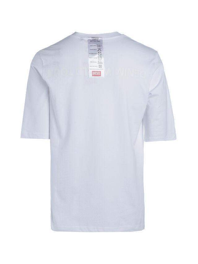 Diesel - SOTO01, White - T-Shirts - Image 3