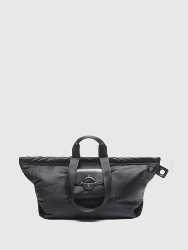 Nylon shopper with twist-lock