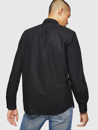 Diesel - S-MOI-R-BW, Black - Shirts - Image 2