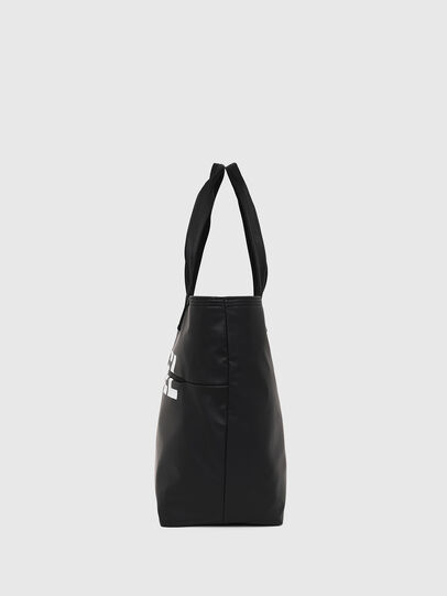 Diesel - F-BOLD SHOPPER II, Black - Shopping and Shoulder Bags - Image 3