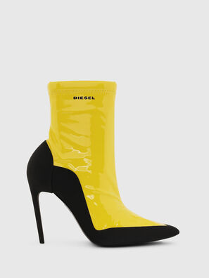 D-SLANTY ABH, Yellow - Ankle Boots