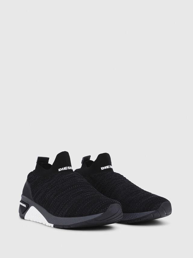 Diesel - S-KB ATHL SOCK, Black - Sneakers - Image 2