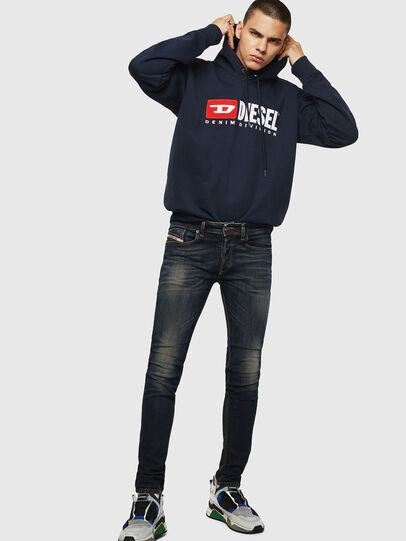 Diesel - Sleenker 069FX, Dark Blue - Jeans - Image 5