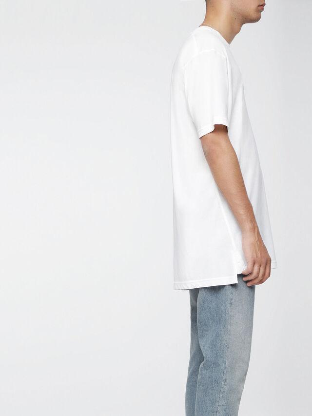 Diesel T-SANTA, White - T-Shirts - Image 3