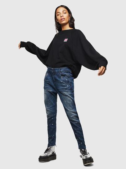 Diesel - Fayza JoggJeans 083AS, Dark Blue - Jeans - Image 6