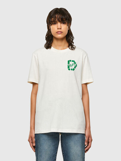 Diesel - T-JUST-N40, White - T-Shirts - Image 2
