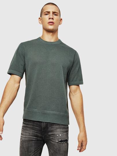 Diesel - K-LORE, Olive Green - Knitwear - Image 1