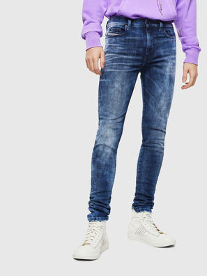 D-Amny 0096Q, Medium blue - Jeans
