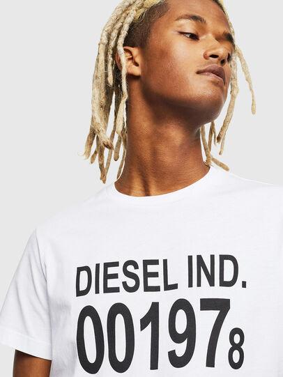 Diesel - T-DIEGO-001978, White - T-Shirts - Image 4