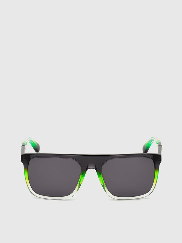 DL0299, Black/Green - Sunglasses