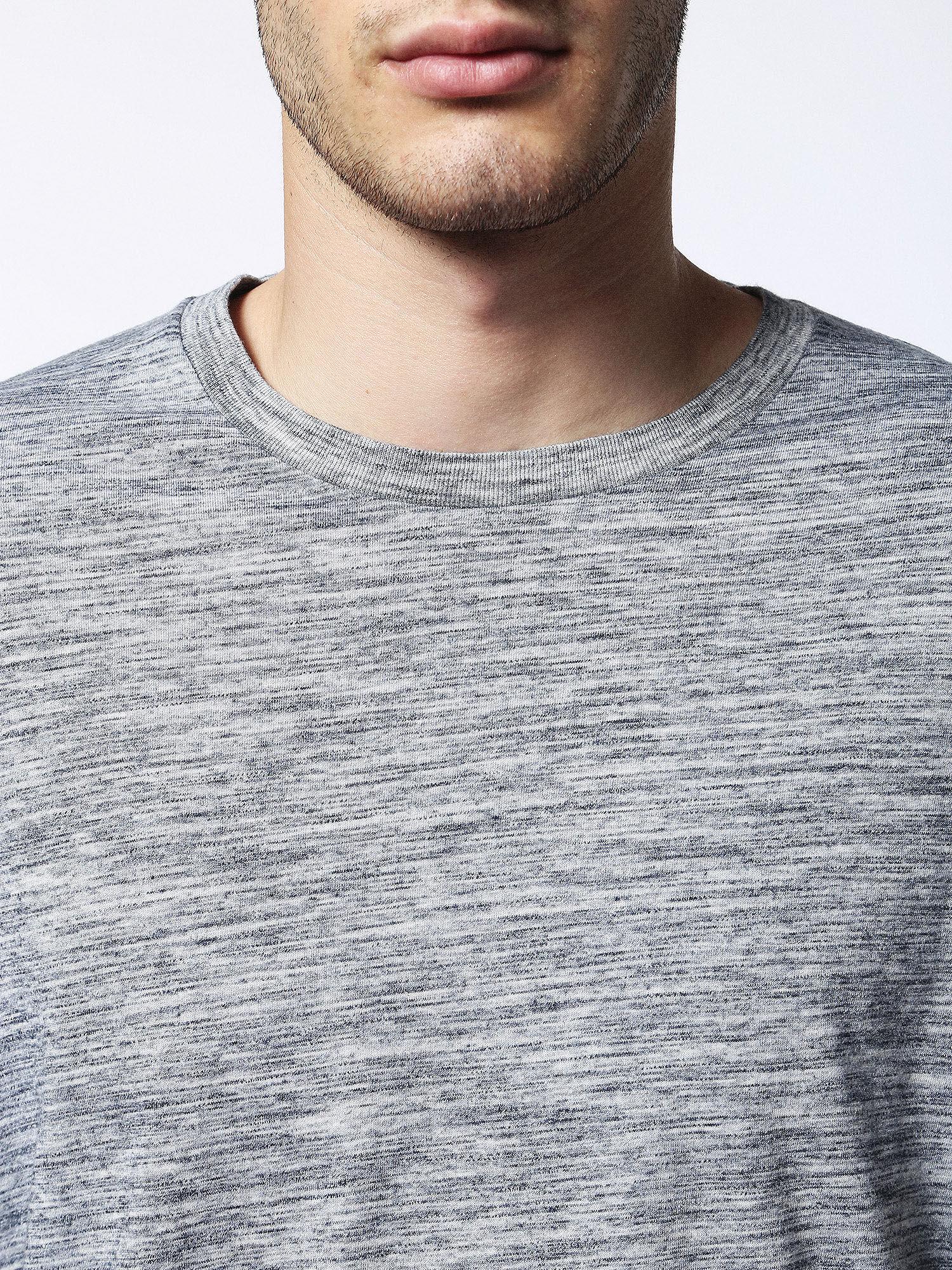 00SN1L0GAOB T-Shirts Man T-SIRIO by Diesel Melange Grey