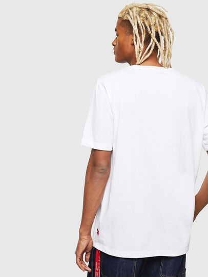 Diesel - CC-T-JUST-COLA, White - T-Shirts - Image 5