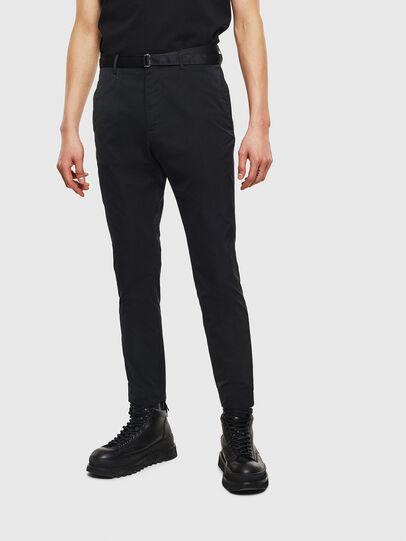 Diesel - P-LOST-NP, Black - Pants - Image 1