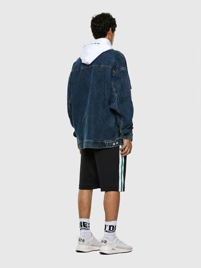 Diesel - P-KURL, Black - Shorts - Image 6