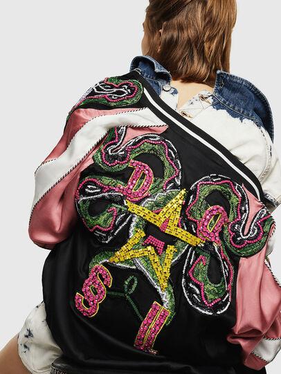 Diesel - G-IOIO, Black/Pink - Jackets - Image 5