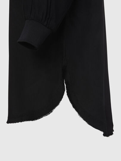 Diesel - D-SUPER-D, Black - Dresses - Image 5
