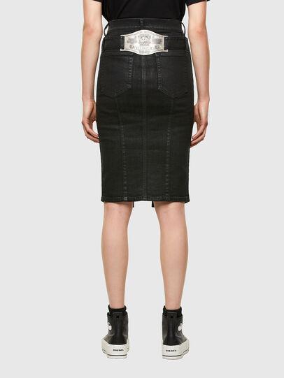 Diesel - DE-FEDY-SP, Black - Skirts - Image 2