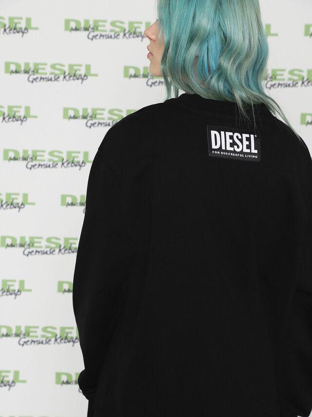 Diesel - MU-FESTA-FL, Black - Sweaters - Image 3