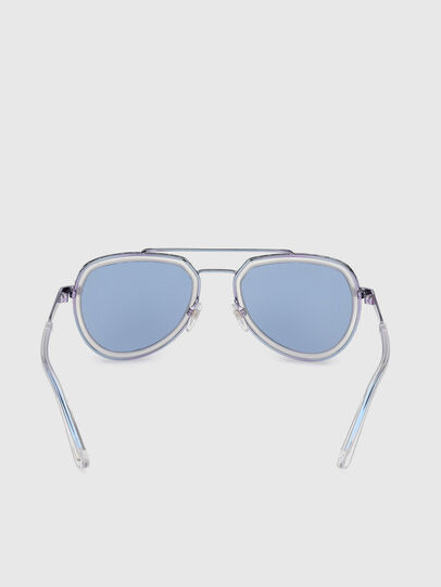 Diesel - DL0266, Blue - Sunglasses - Image 4