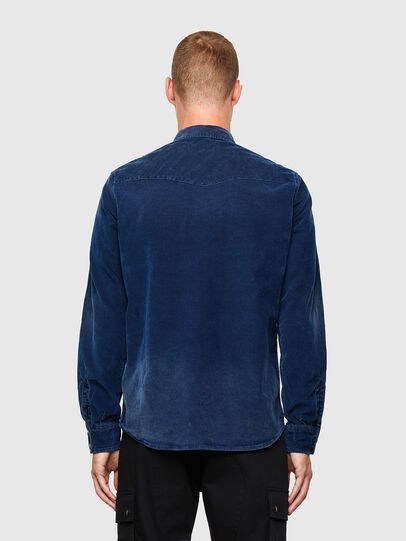 Diesel - S-EAST-LONG-VE, Blue - Shirts - Image 2