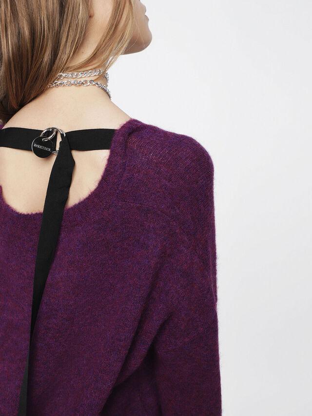 Diesel - M-ALPY, Violet - Knitwear - Image 3