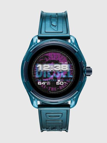 Diesel On Fadelite Smartwatch - Blue Transparent
