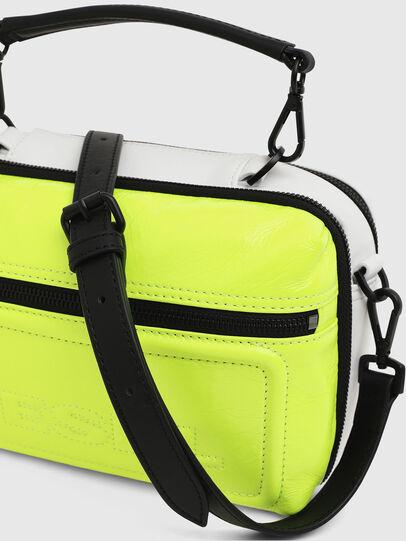Diesel - FUTURAH, Yellow Fluo - Crossbody Bags - Image 4