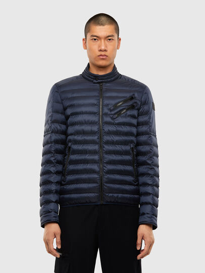 Diesel - W-DOLMIR-KA, Dark Blue - Winter Jackets - Image 1
