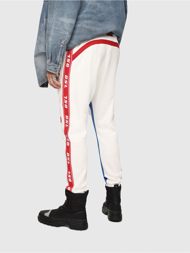Diesel - P-YATRI, White/Red/Blu - Pants - Image 2