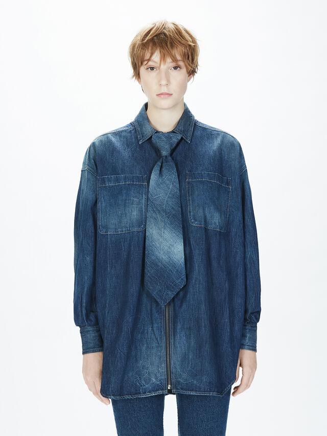 Diesel - SOTS01, Blue Jeans - Shirts - Image 4