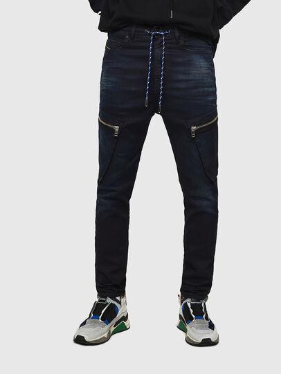 Diesel - D-Vider JoggJeans 069IC, Dark Blue - Jeans - Image 1