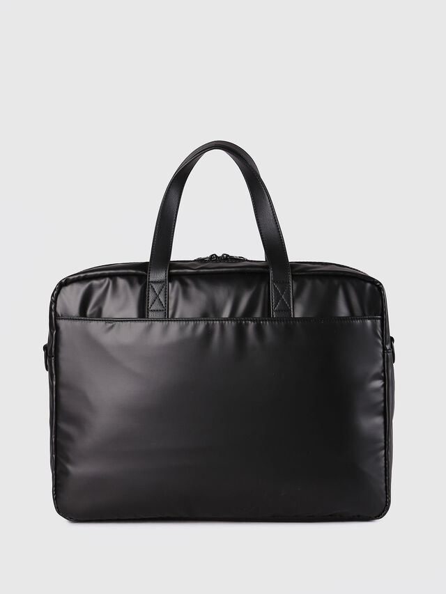 Diesel - F-DISCOVER BRIEFCASE, Black - Briefcases - Image 3