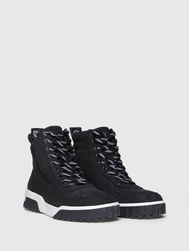 Diesel - S-RUA MC W, Black - Sneakers - Image 2